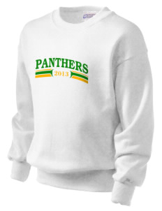 Pleasant Green Elementary School Panthers Kid's Crewneck Sweatshirt