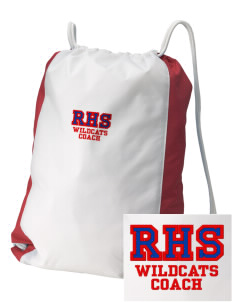 Richfield High School Wildcats Embroidered Holloway Home and Away Cinch Bag