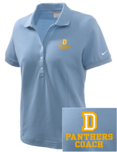 Dixon Middle School Panthers Embroidered Nike Women's Pique Golf Polo