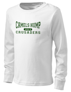 Camels Hump Middle School Crusaders  Kid's Long Sleeve T-Shirt