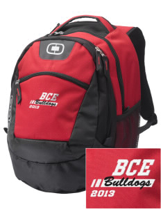 Barre City Elementary Middle School Bulldogs Embroidered OGIO Rogue Backpack