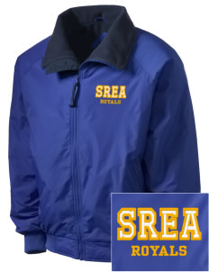 South Royalton Elementary And High Royals Embroidered Men's Fleece-Lined Jacket
