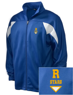 Randolph Elementary School Stars Embroidered Holloway Men's Full-Zip Track Jacket