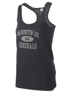 Washington-Lee High School Generals Women's Racerback Tank