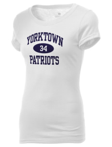 Yorktown High School Patriots Holloway Women's Groove T-Shirt