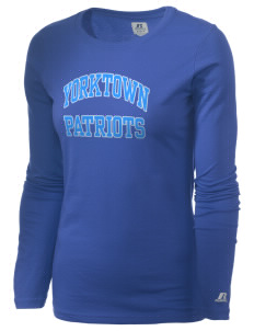 Yorktown High School Patriots  Russell Women's Long Sleeve Campus T-Shirt