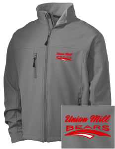Union Mill Elementary School Bears Embroidered Men's Soft Shell Jacket