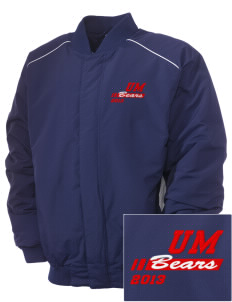 Union Mill Elementary School Bears Embroidered Russell Men's Baseball Jacket