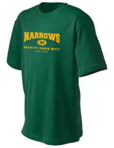 Narrows High School Green Wave  Champion Kid's Performance T-Shirt