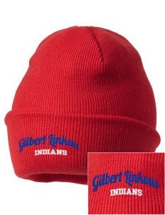 Gilbert Linkous Elementary School Indians Embroidered Knit Cap
