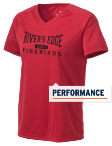 River's Edge High School Firebirds Holloway Women's Zoom Performance T-Shirt