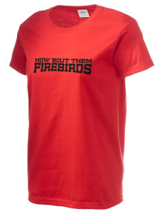 River's Edge High School Firebirds Women's 6.1 oz Ultra Cotton T-Shirt