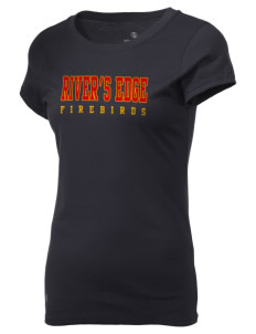River's Edge High School Firebirds Holloway Women's Groove T-Shirt