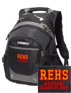 River's Edge High School Firebirds Embroidered OGIO Fugitive Backpack