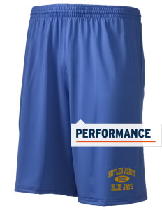 "Butler Acres Elementary School Blue Jays Holloway Men's Performance Shorts, 9"" Inseam"