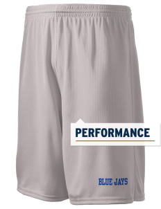 "Butler Acres Elementary School Blue Jays Holloway Men's Speed Shorts, 9"" Inseam"