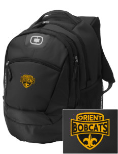 Orient Elementary School Bobcats Embroidered OGIO Rogue Backpack