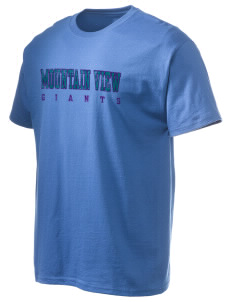 Mountain View Elementary School Giants Hanes Men's 6 oz Tagless T-shirt