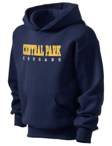 Central Park Elementary School Cougars Kid's Hooded Sweatshirt