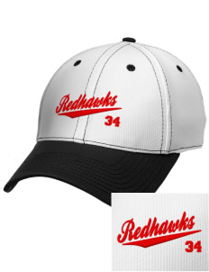Port Townsend Senior High School Redskins Embroidered New Era Snapback Performance Mesh Contrast Bill Cap
