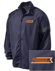 Medina Elementary School Tigers Embroidered adidas Men's ClimaProof Jacket