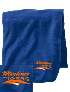 Medina Elementary School Tigers Embroidered Holloway Stadium Fleece Blanket