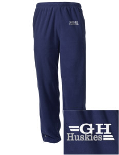 Gregory Heights Elementary School Huskies Embroidered Holloway Men's Flash Warmup Pants