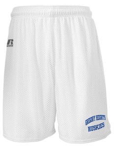 "Gregory Heights Elementary School Huskies  Russell Men's Mesh Shorts, 7"" Inseam"