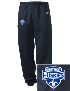 Gregory Heights Elementary School Huskies Embroidered Champion Men's Sweatpants