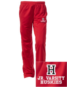 Hilltop Elementary School Huskies Embroidered Women's Tricot Track Pants