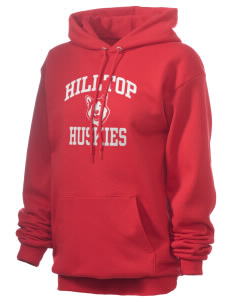 Hilltop Elementary School Huskies Unisex 7.8 oz Lightweight Hooded Sweatshirt