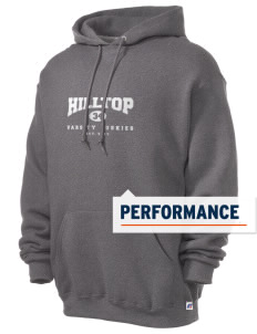 Hilltop Elementary School Huskies Russell Men's Dri-Power Hooded Sweatshirt
