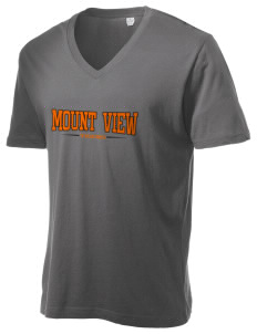 Mount View Elementary School Tigers Alternative Men's 3.7 oz Basic V-Neck T-Shirt
