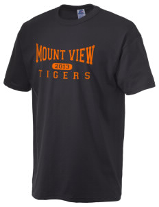 Mount View Elementary School Tigers  Russell Men's NuBlend T-Shirt