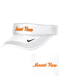 Mount View Elementary School Tigers Embroidered Nike Golf Dri-Fit Swoosh Visor
