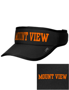 Mount View Elementary School Tigers Embroidered Lite Series Active Visor