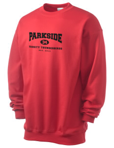 Parkside Elementary School Thunderbirds Men's 7.8 oz Lightweight Crewneck Sweatshirt
