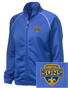 Sunnydale Elementary School Suns Embroidered Holloway Women's Attitude Warmup Jacket