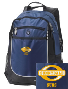 Sunnydale Elementary School Suns Embroidered OGIO Carbon Backpack
