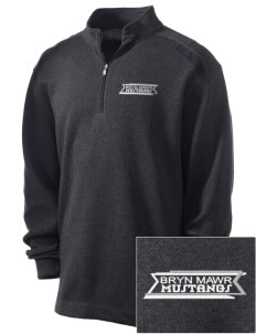 Bryn Mawr Elementary School Mustangs Embroidered Nike Men's Golf Heather Cover Up