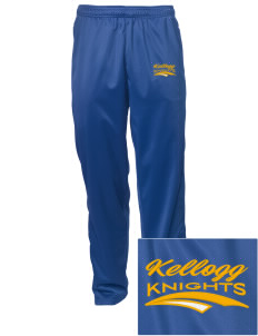 Kellogg Middle School Knights Embroidered Men's Tricot Track Pants