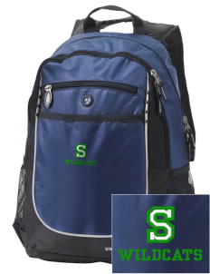 Syre Elementary School Wildcats Embroidered OGIO Carbon Backpack