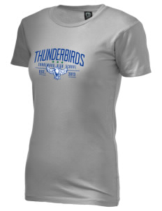 Shorewood High School Thunderbirds Alternative Women's Basic Crew T-Shirt