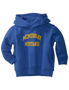 McMurray Middle School Mustangs  Toddler Fleece Hooded Sweatshirt with Pockets
