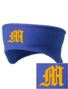 McMurray Middle School Mustangs Embroidered Fleece Headband