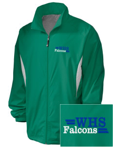 Woodinville High School Falcons Embroidered Holloway Men's Full-Zip Jacket