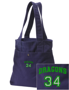 Bryant Elementary School Dragons Embroidered Alternative The Berkeley Tote