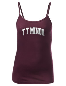 T T Minor Elementary School Bullpups Women's Louise Longer Length Tank