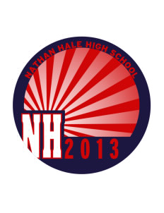 Nathan Hale High School Raiders Sticker