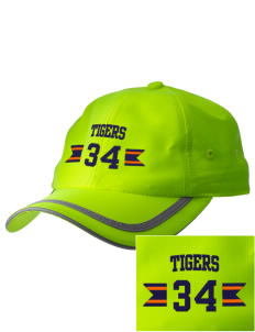 Catherine Blaine School Tigers  Embroidered Safety Cap